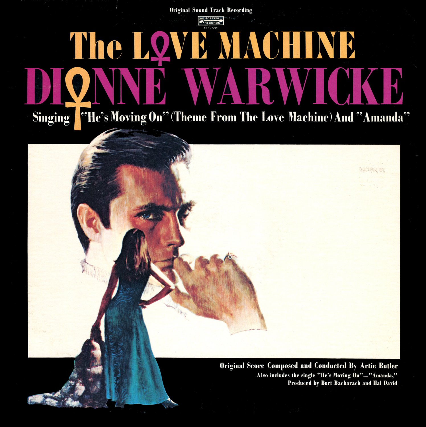 The Love Machine - Original Soundtrack, Dionne Warwicke & Artie Butler OST LP/CD