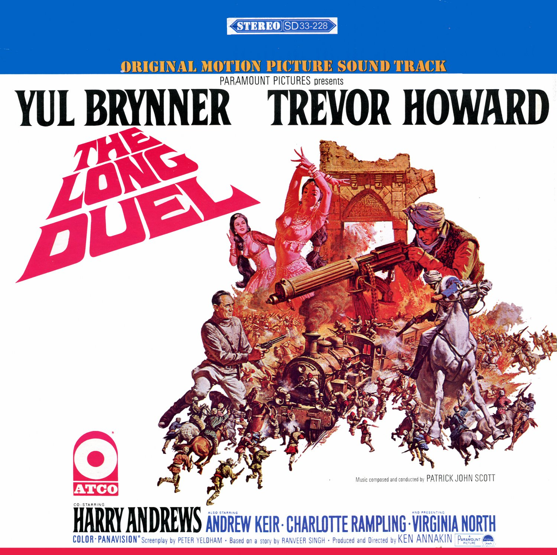 The Long Duel - Original Soundtrack, John Scott OST LP/CD