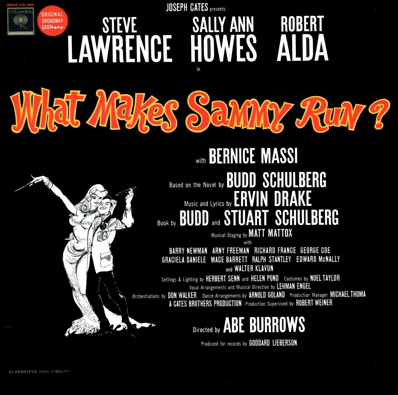 What Makes Sammy Run? - Original Broadway Cast Soundtrack, Steve Lawrence Musical LP/CD