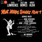 What Makes Sammy Run? - Original Broadway Cast Soundtrack, Steve Lawrence Musical LP/CD