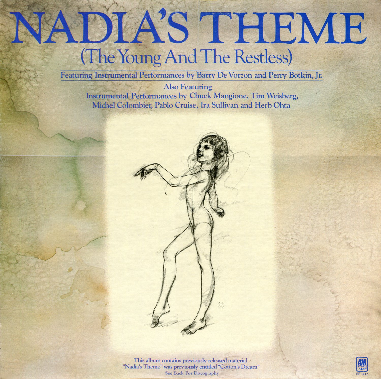 Nadia's Theme (The Young And The Restless) - Soundtrack Collection, Barry De Vorzon OST LP/CD