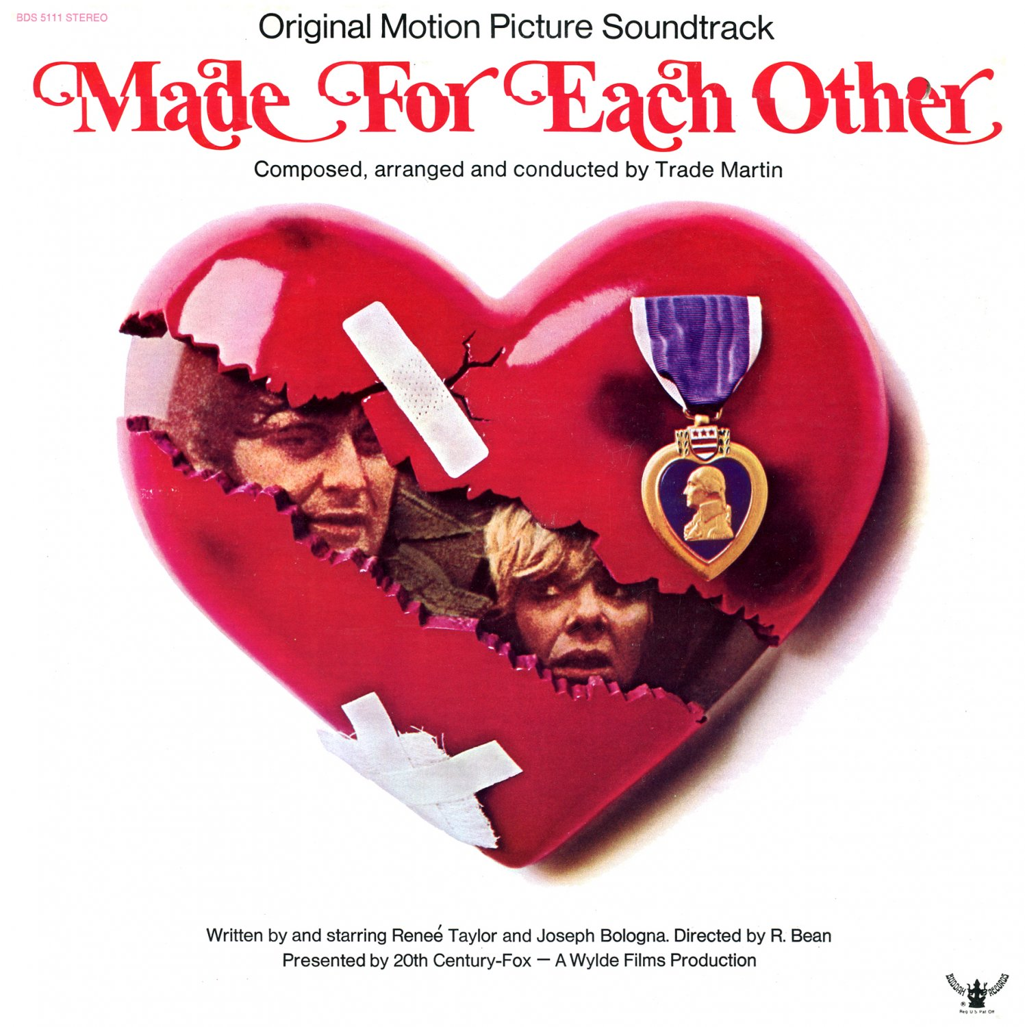 Made For Each Other - Original Soundtrack, Trade Martin OST LP/CD