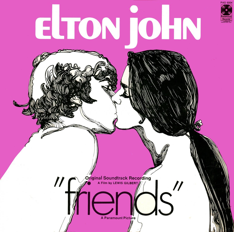 Friends (1971) - Original Soundtrack, Elton John & Bernie Taupin OST LP/CD