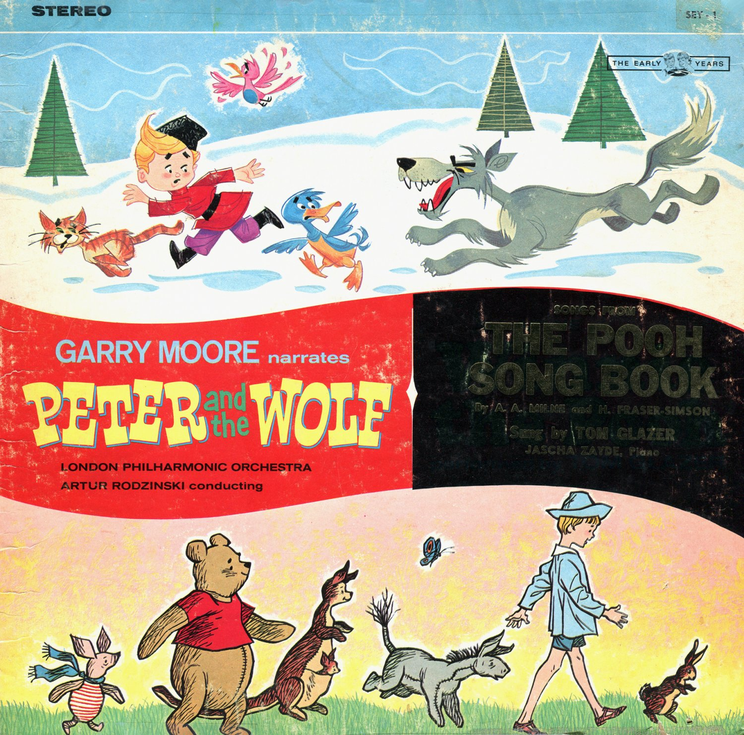 Peter And The Wolf & The Pooh Song Book - Garry Moore & Tom Glazer LP/CD