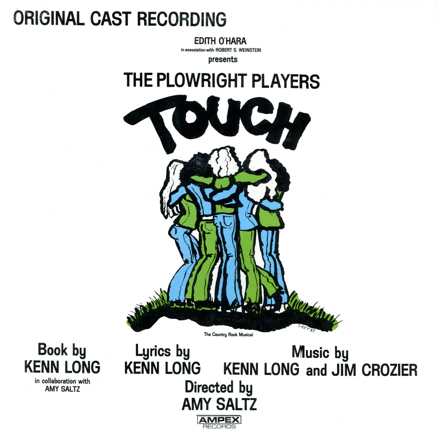 Touch (1971) - Original Cast Recording, The Plowright Players Soundtrack LP/CD