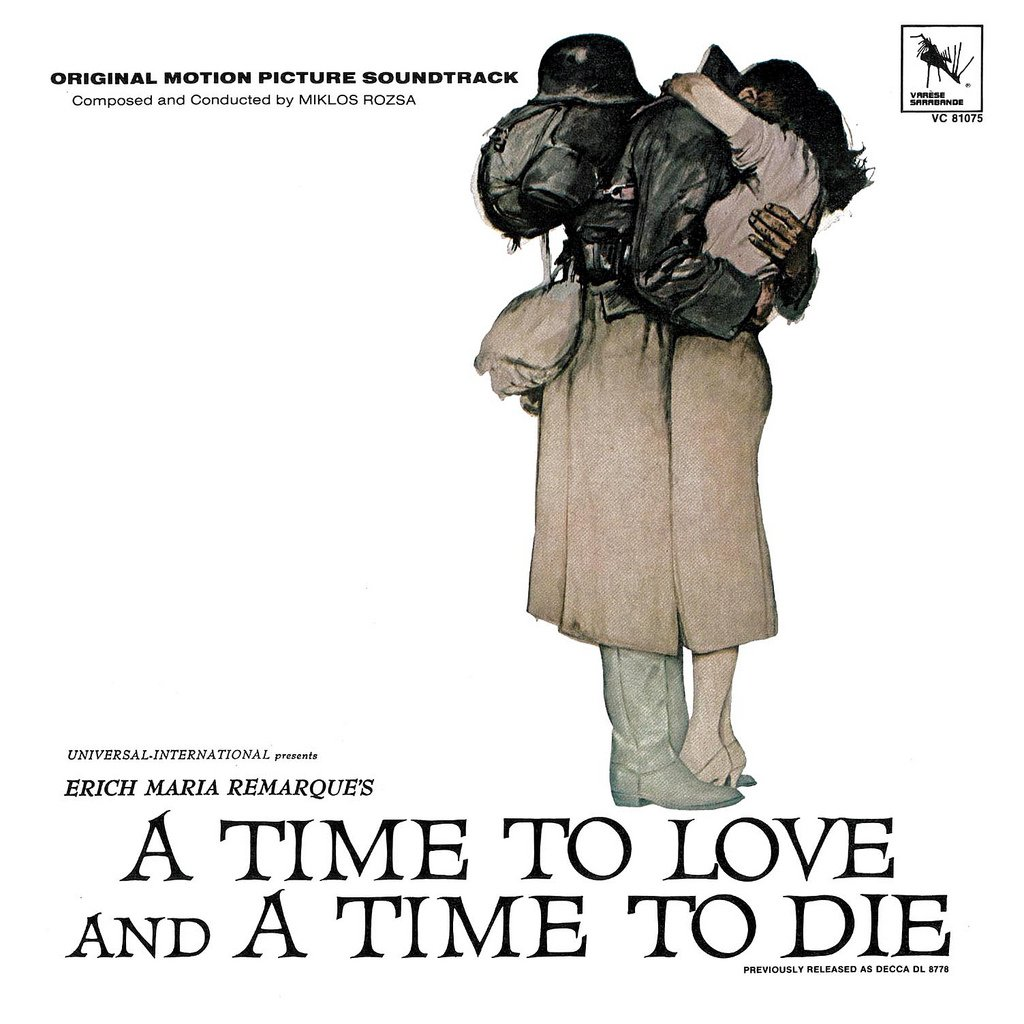 A Time To Love And A Time To Die - Original Soundtrack, Miklos Rozsa OST LP/CD
