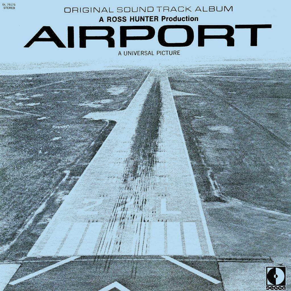 Airport (1970) - Original Soundtrack, Alfred Newman OST LP/CD