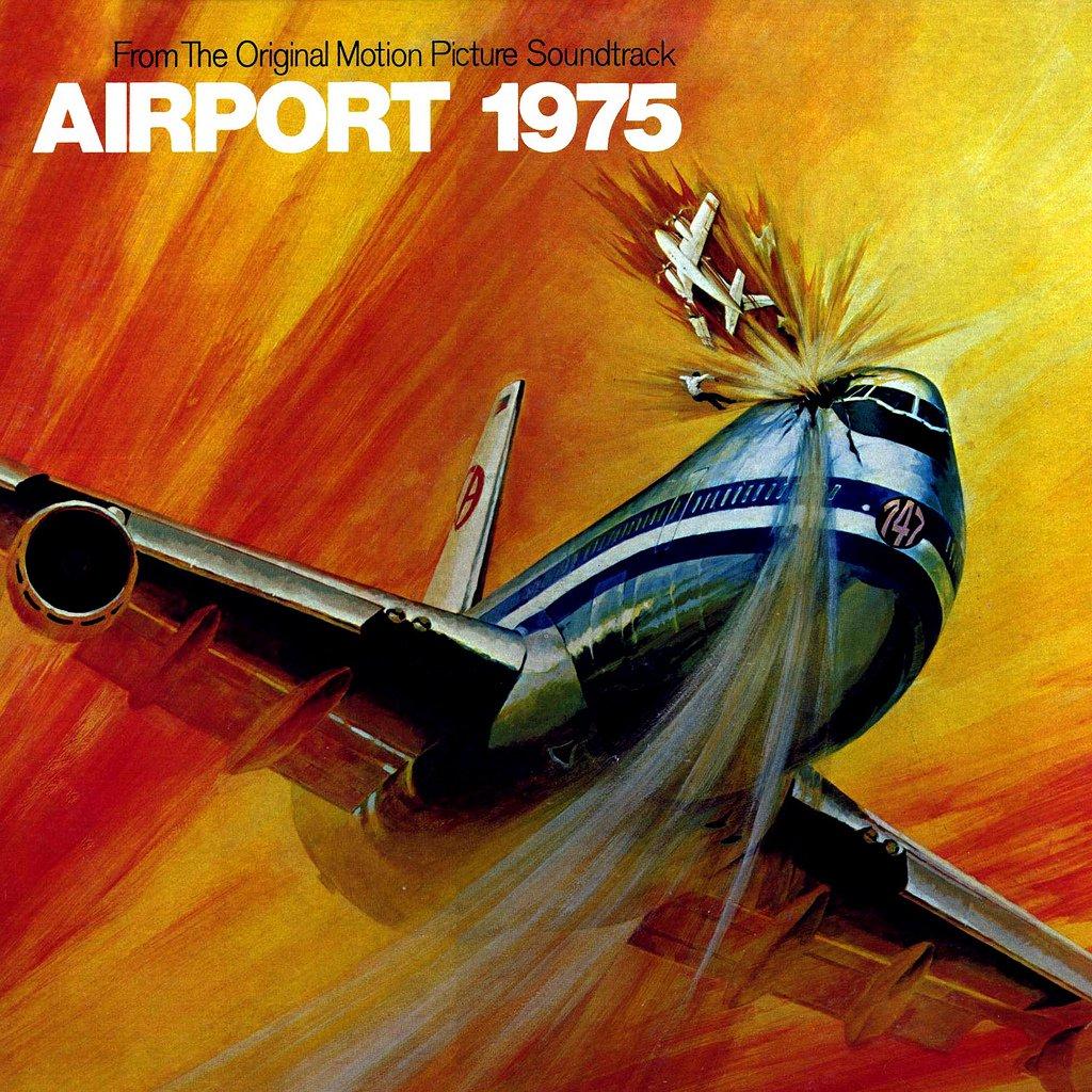 Airport 1975 - Original Soundtrack, John Cacavas OST LP/CD