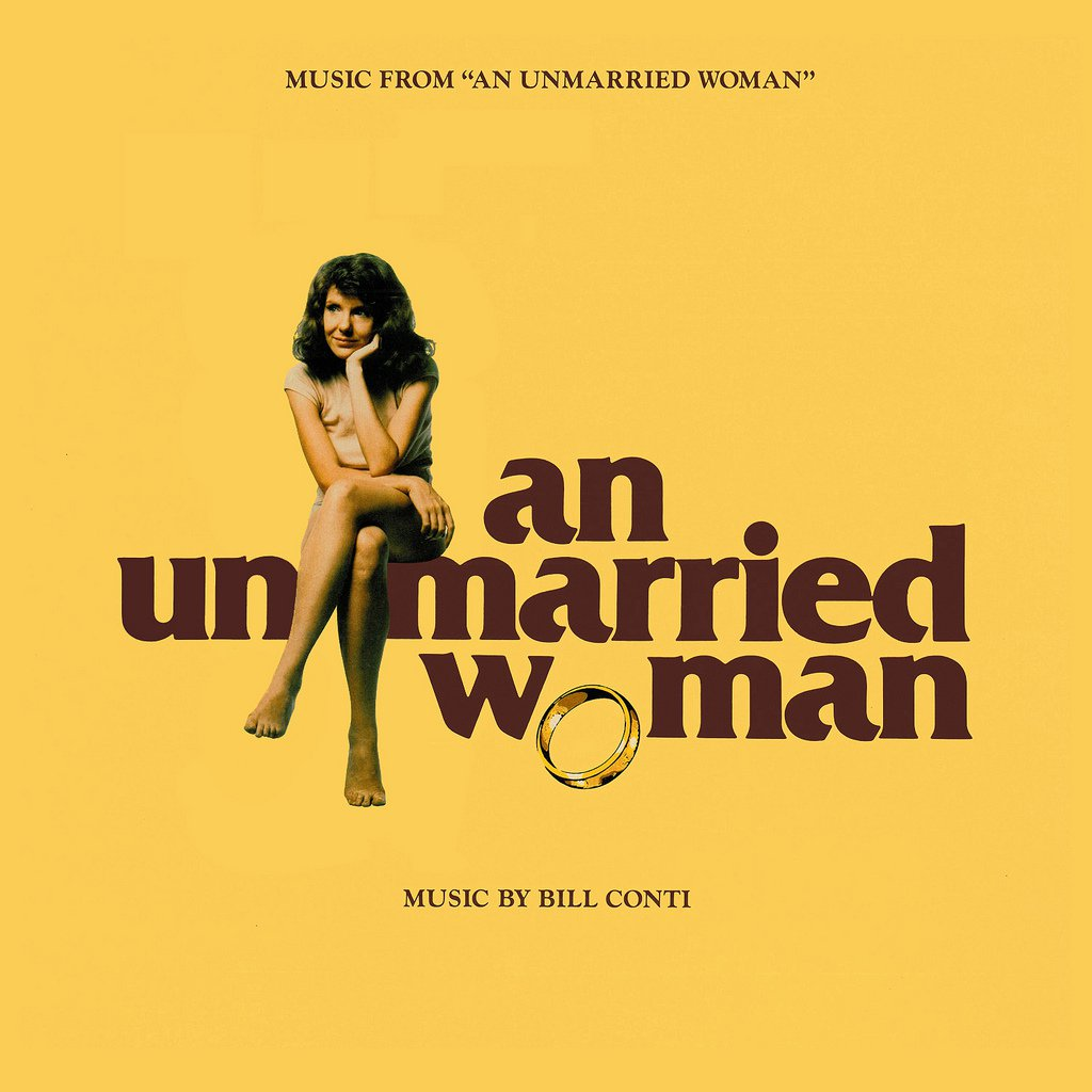An Unmarried Woman (1978) - Original Soundtrack, Bill Conti OST LP/CD