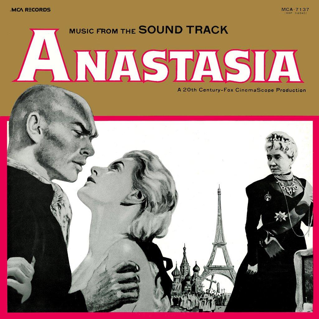 Anastasia (1956) - Original Soundtrack, Alfred Newman OST LP/CD