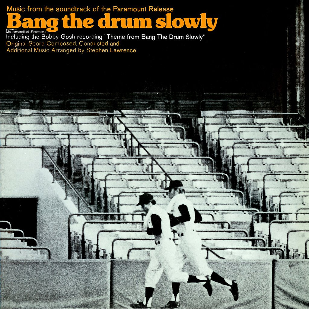bang the drum slowly original soundtrack stephen lawrence ost lp cd. Black Bedroom Furniture Sets. Home Design Ideas