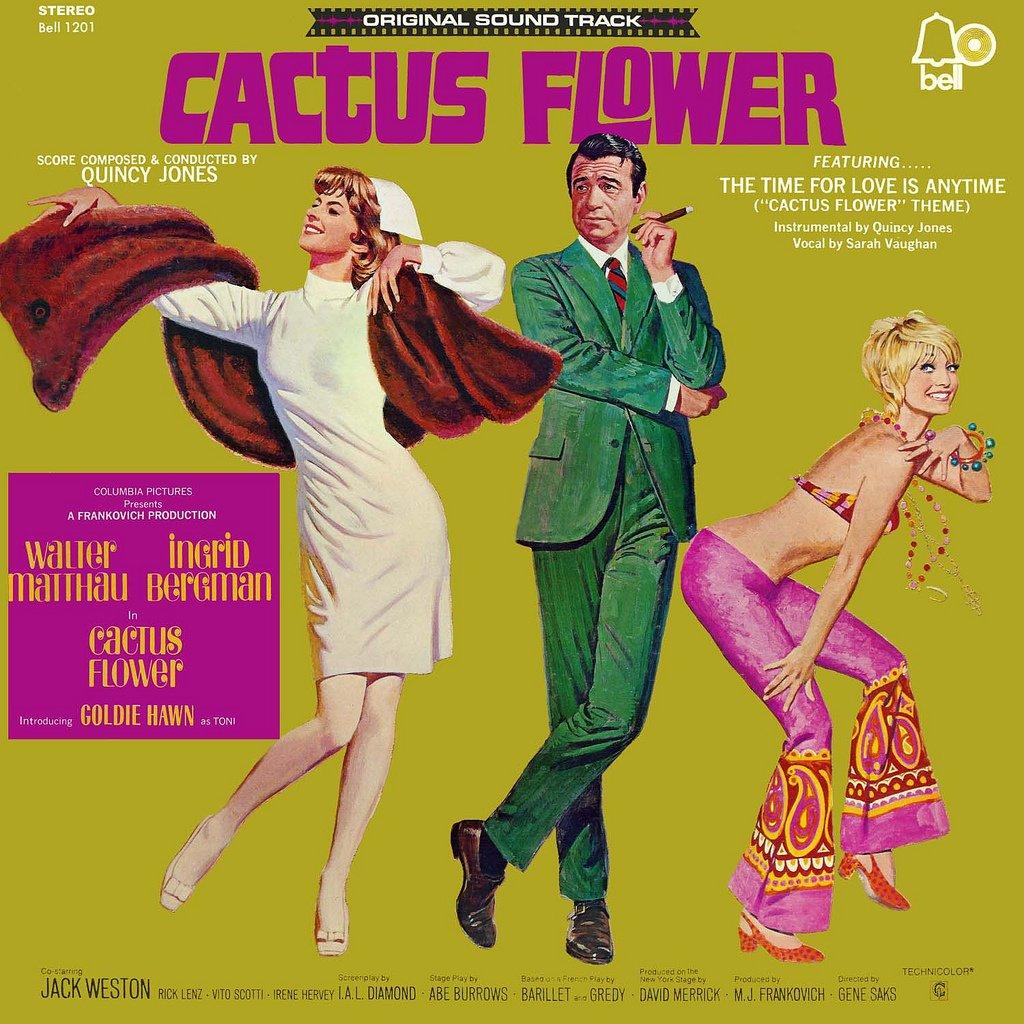 Cactus Flower - Original Soundtrack, Quincy Jones OST LP/CD