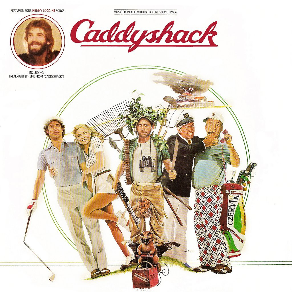 Caddyshack - Original Soundtrack, Johnny Mandel & Kenny Loggins OST LP/CD