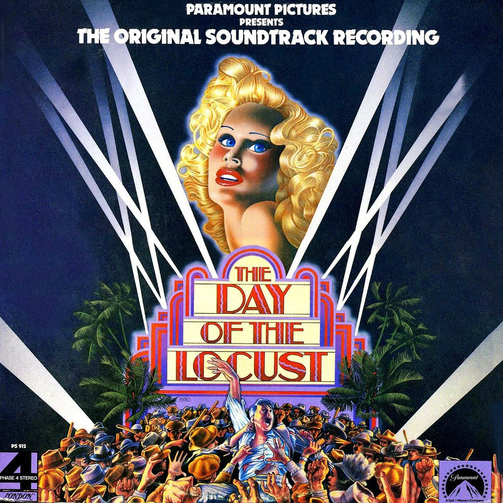 The Day Of The Locust - Original Soundtrack, John Barry OST LP/CD