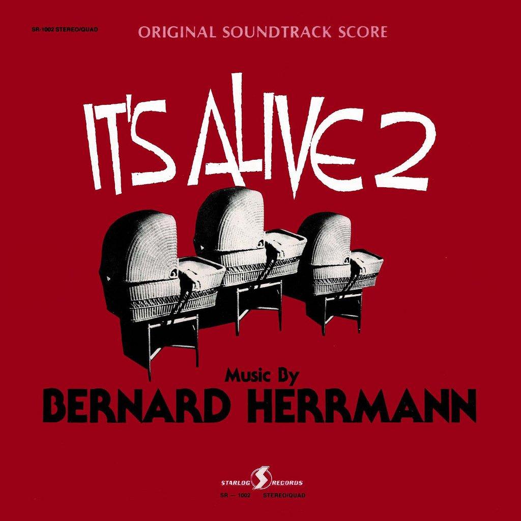 It's Alive 2 - Original Soundtrack, Bernard Herrmann OST LP/CD