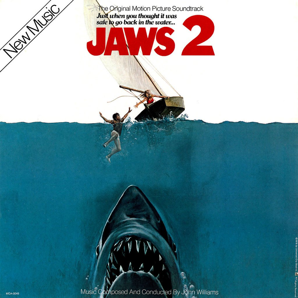 Jaws 2 - Original Soundtrack, John Williams OST LP/CD
