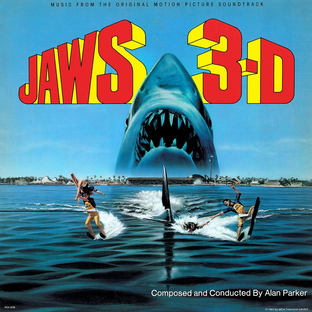Jaws 3 (3-D) - Original Soundtrack, Alan Parker OST LP/CD