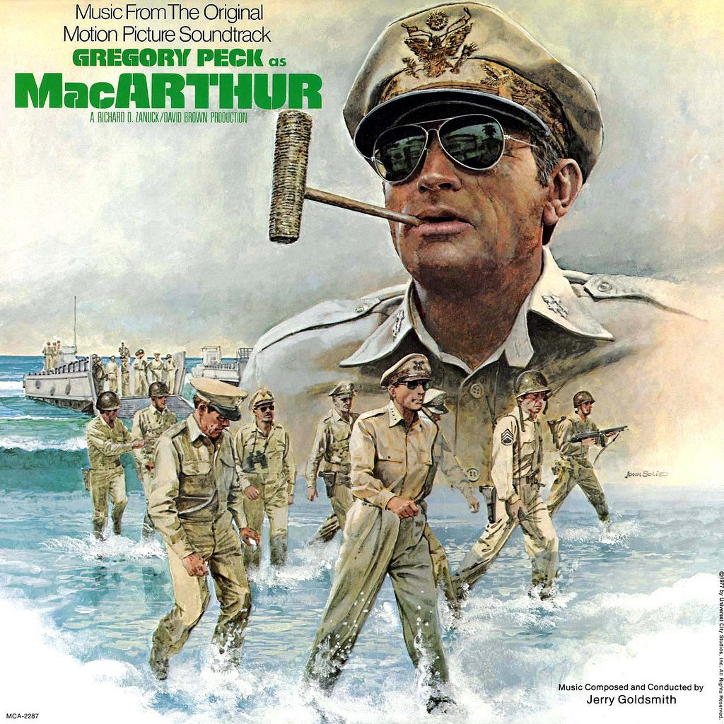 MacArthur - Original Soundtrack, Jerry Goldsmith OST LP/CD