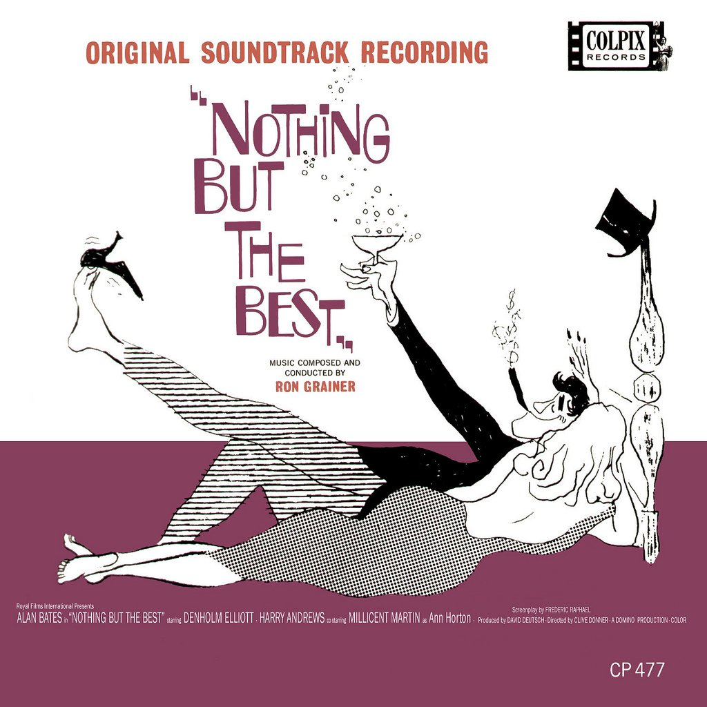 Nothing But The Best - Original Soundtrack, Ron Grainer OST LP/CD