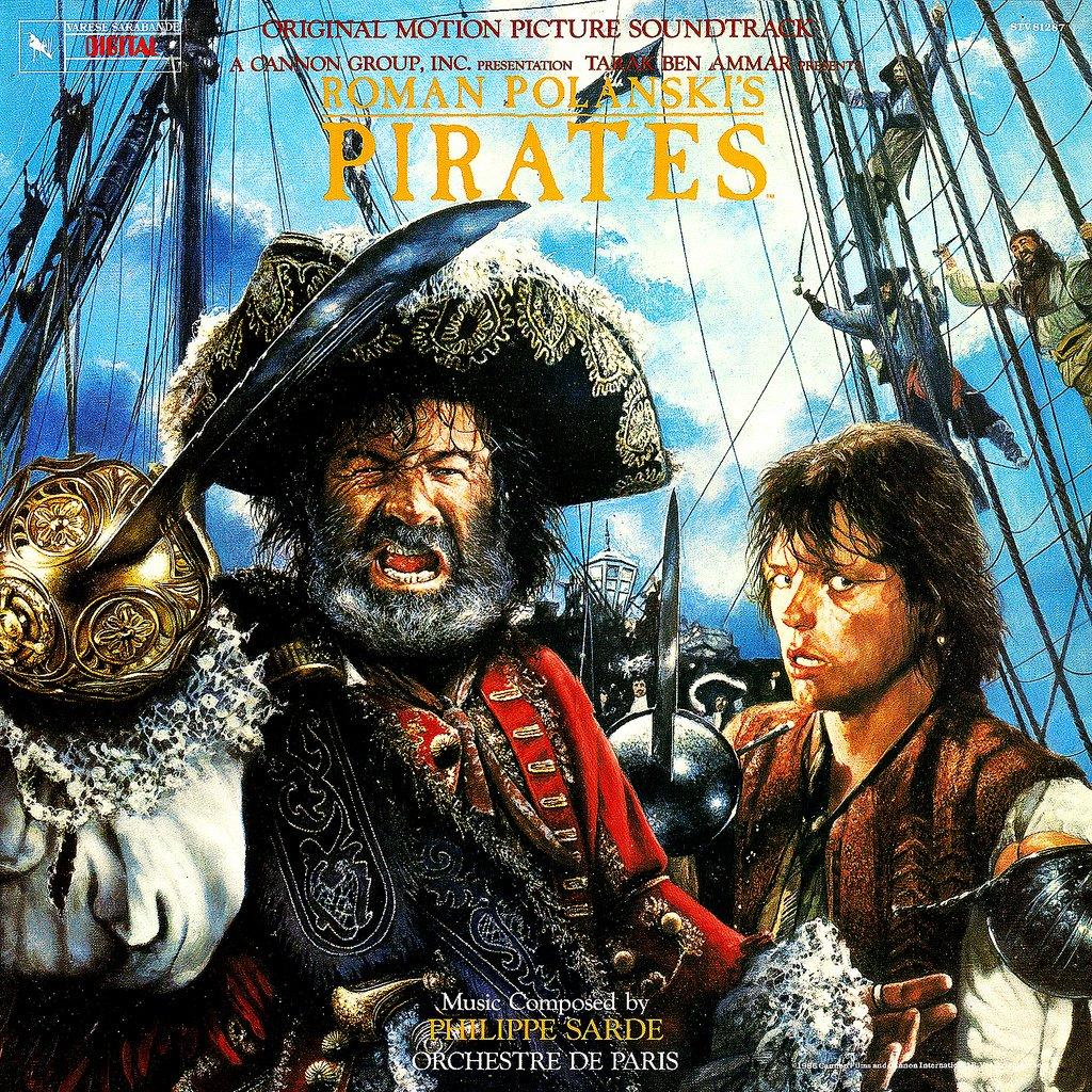Pirates (1986) - Original Soundtrack, Philippe Sarde OST LP/CD