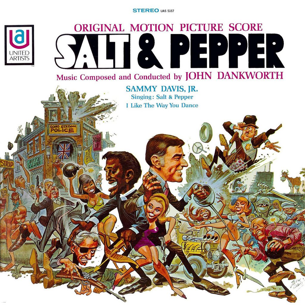 Salt And Pepper - Original Soundtrack, John Dankworth OST LP/CD &