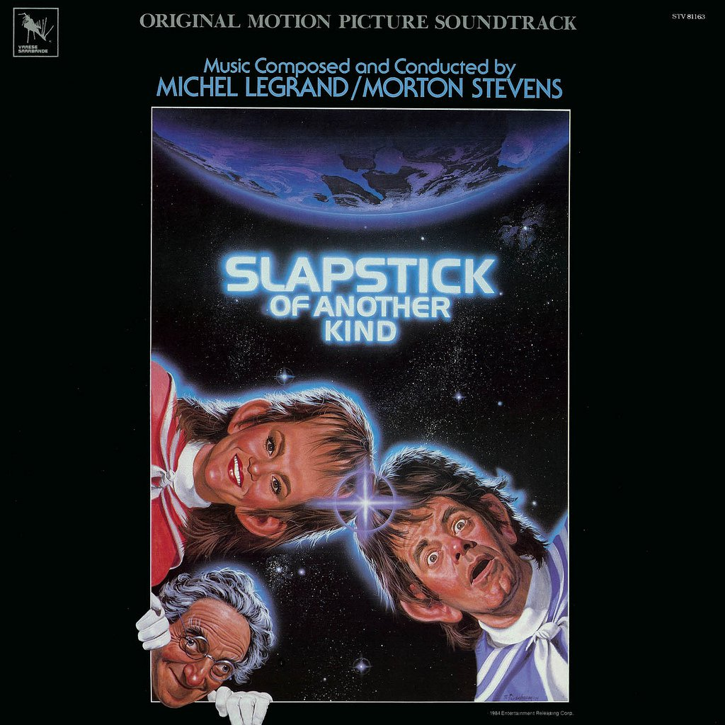 Slapstick Of Another Kind - Original Soundtrack, Morton Stevens & Michel Legrand OST LP/CD