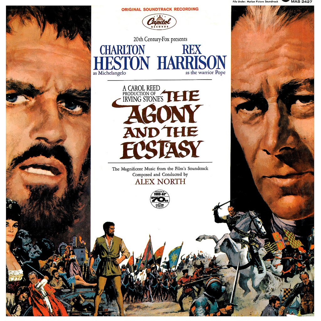 The Agony And The Ecstasy - Original Soundtrack, Alex North OST LP/CD