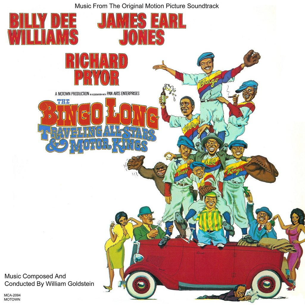 The Bingo Long Traveling All-Stars & Motor Kings - Original Soundtrack, William Goldstein OST LP/CD