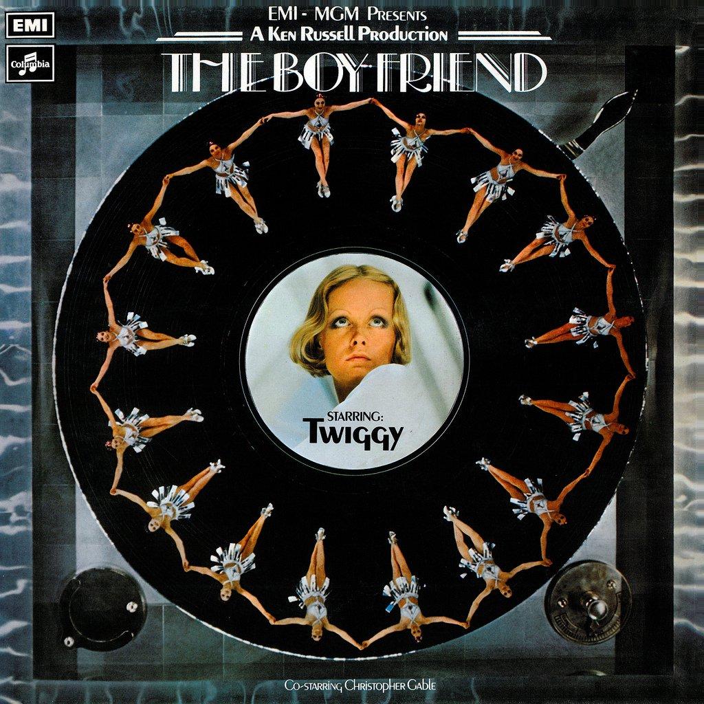 The Boyfriend (1971) - Original MGM Soundtrack, Twiggy Musical OST LP/CD