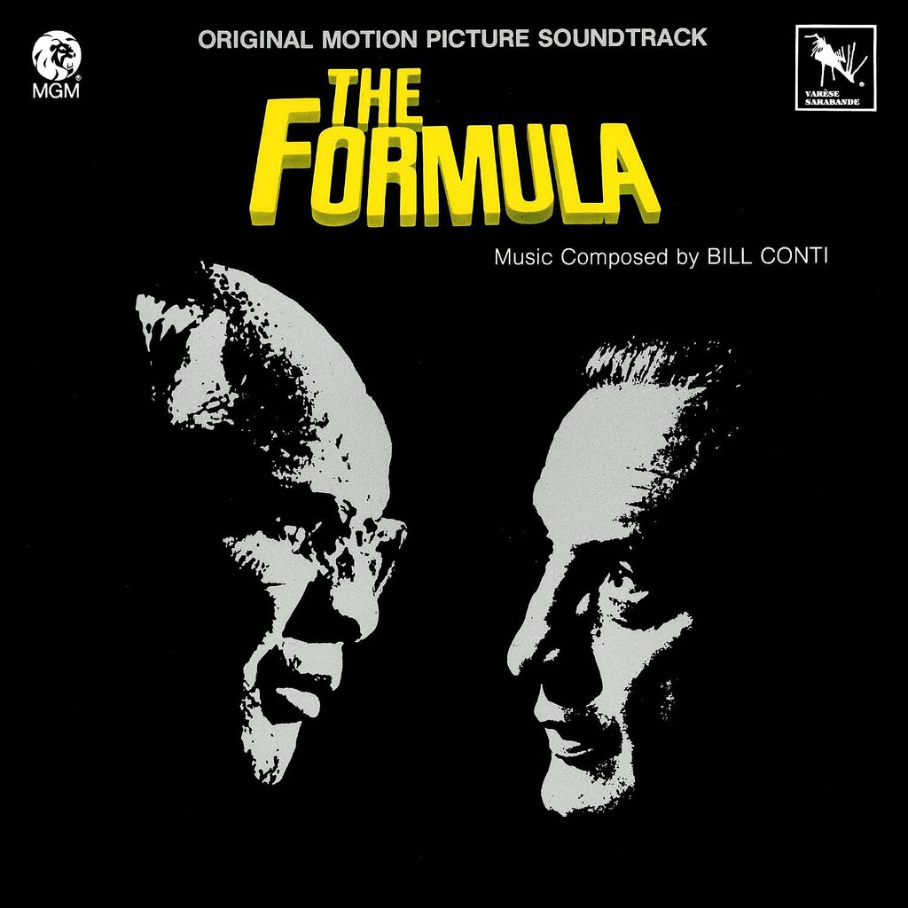 The Formula - Original Soundtrack, Bill Conti OST LP/CD