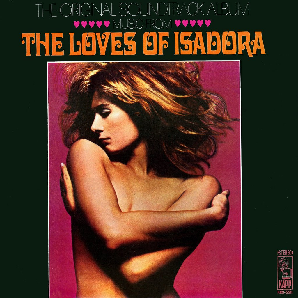 The Loves Of Isadora - Original Soundtrack, Maurice Jarre OST LP/CD