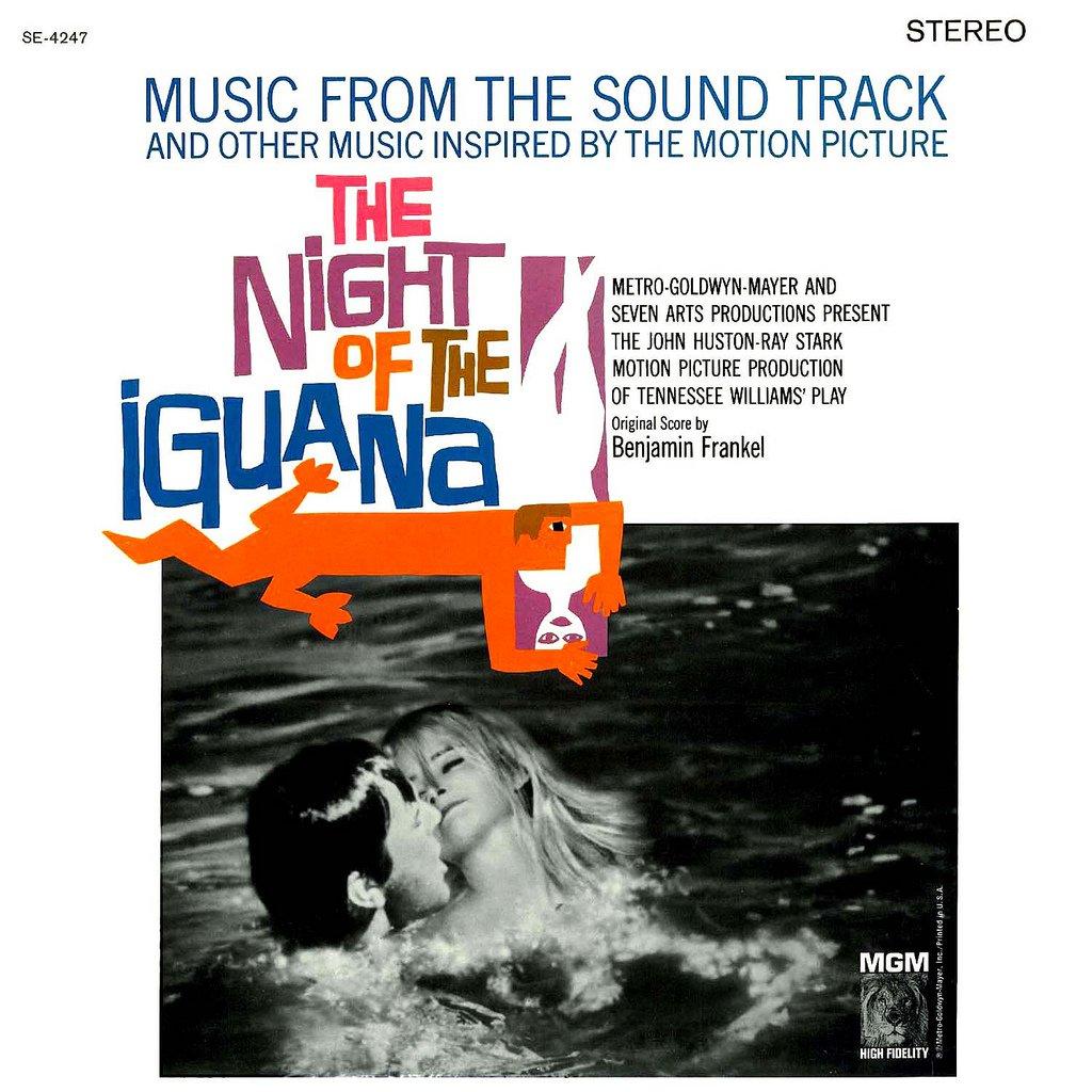 Night Of The Iguana - Original Soundtrack, Benjamin Frankel OST LP/CD