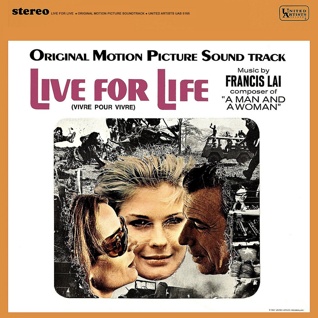 Live For Life / Vivre Pour Vivre - Original Soundtrack, Francis Lai OST LP/CD