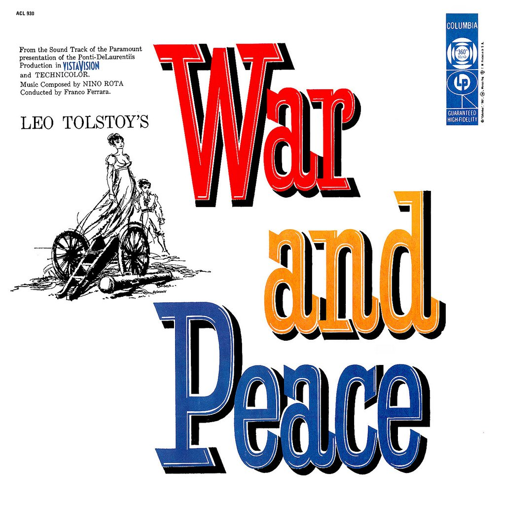 Leo Tolstoy's War And Peace (1956) - Original Soundtrack, Nino Rota OST LP/CD