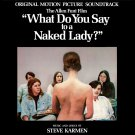 What Do You Say To A Naked Lady? - Original Soundtrack, Steve Karmen OST LP/CD