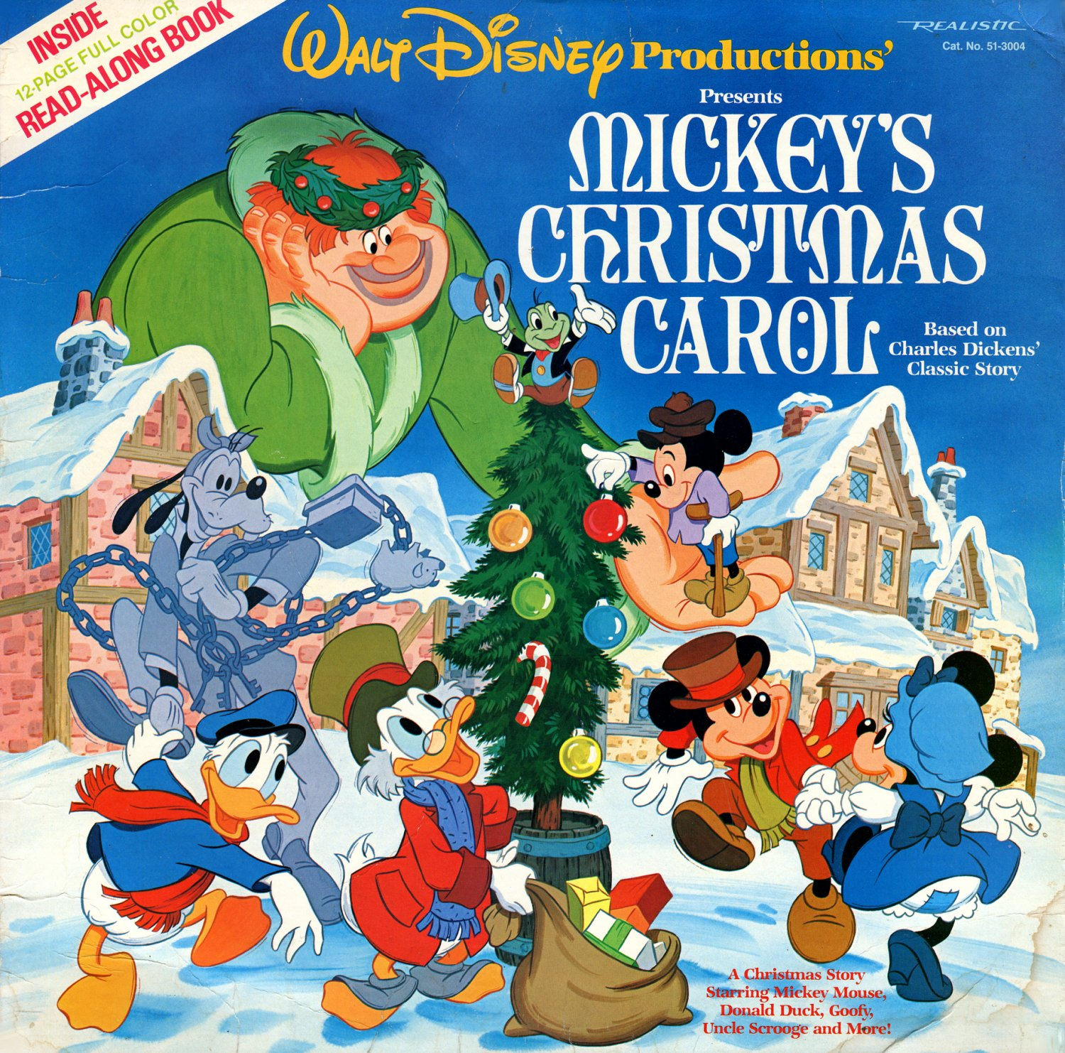 Mickey's Christmas Carol - Original Soundtrack, Walt Disney Christmas Story LP/CD