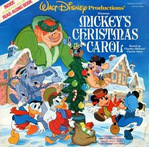 Mickey's Christmas Carol - Original Soundtrack, Walt Disney Christmas Story LP/CD