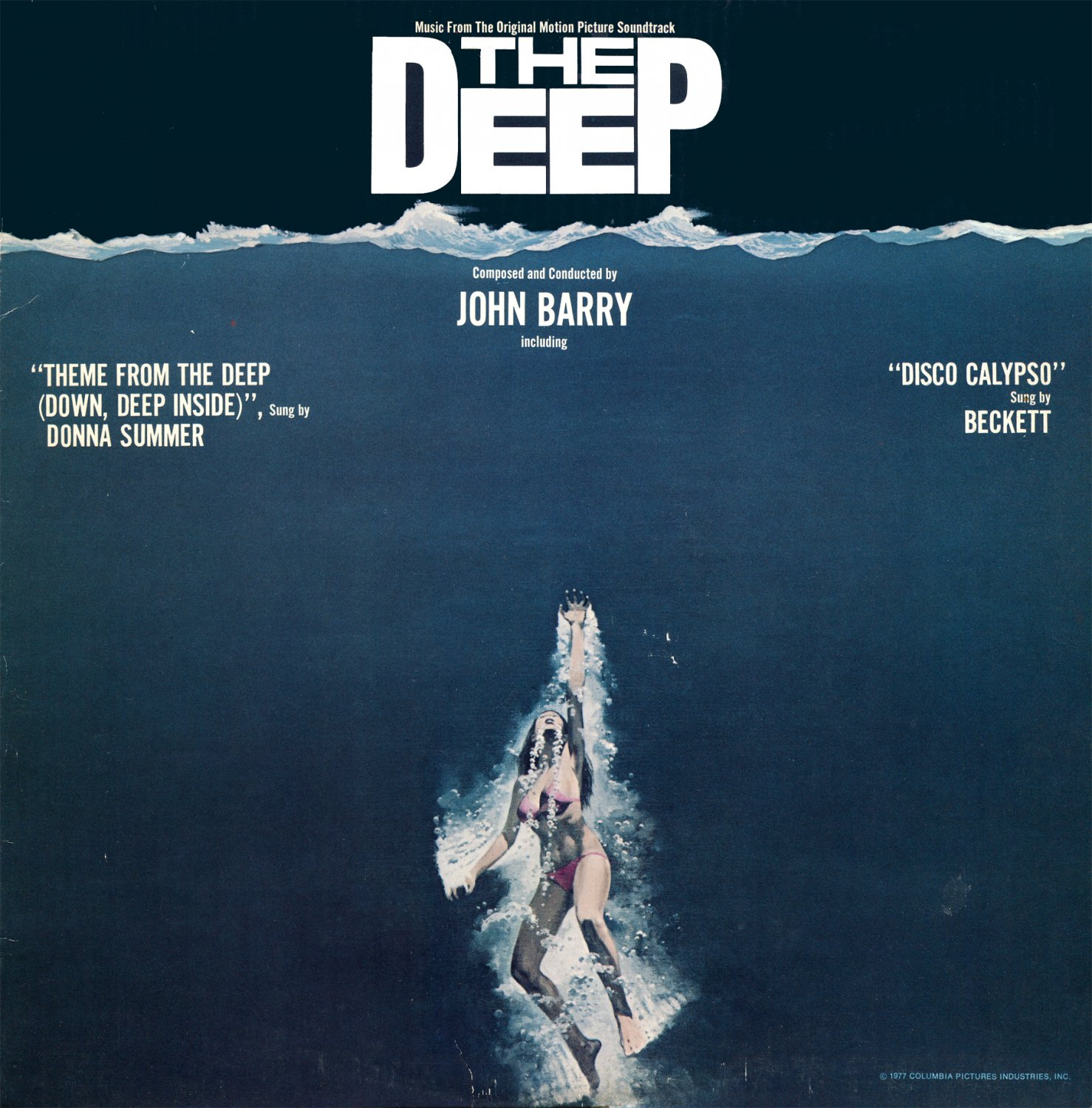 The Deep - Original Soundtrack, John Barry OST LP/CD