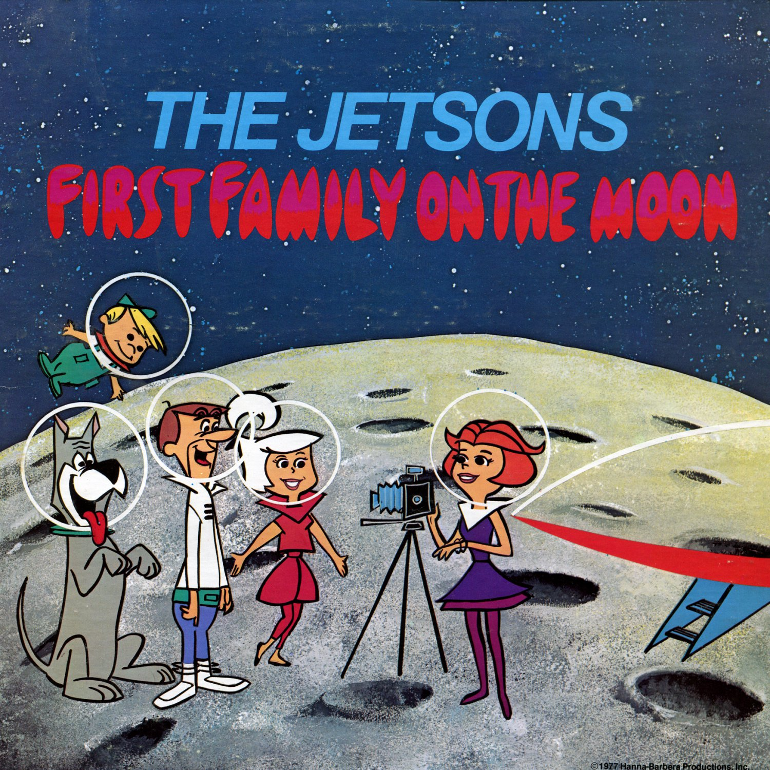 The Jetsons - First Family On The Moon, Hanna-Barbera Soundtrack LP/CD