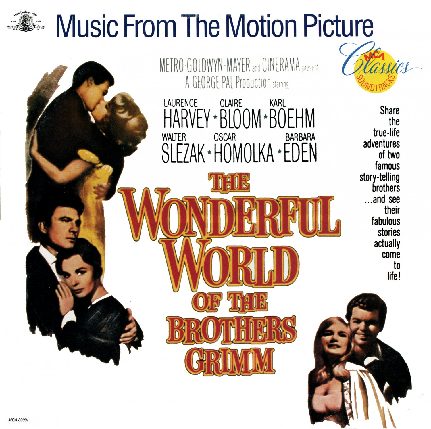 The Wonderful World Of The Brothers Grimm (1963) - Original Soundtrack, Buddy Hackett OST LP/CD