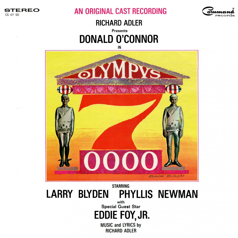 Olympus 7-0000 (7000) - Original Soundtrack, Donald O'Connor musical LP/CD