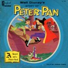 Walt Disney's Peter Pan - Story & Songs Soundtrack LP/CD