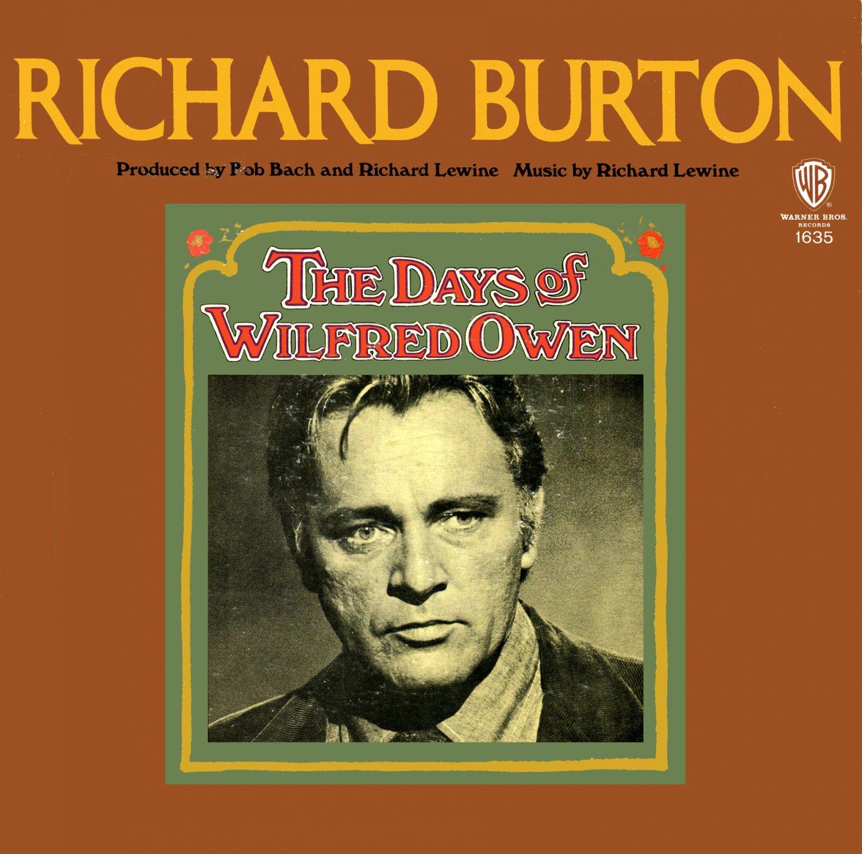 The Days Of Wilfred Owen - Original Soundtrack, Richard Lewine OST LP/CD