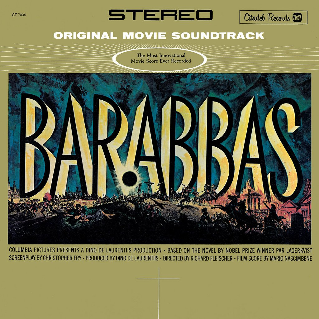 Barabbas - Original Soundtrack, Mario Nascimbene OST LP/CD