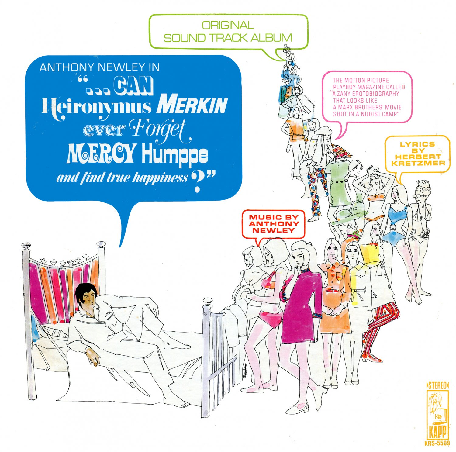 Can Heironymus Merkin Ever Forget Mercy Hope And Find True Happiness - Original Soundtrack LP/CD