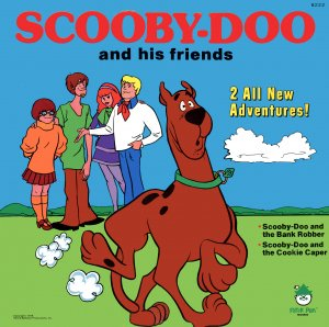 Scooby-Doo And His Friends - 2 All New Adventures, Story Soundtrack LP/CD