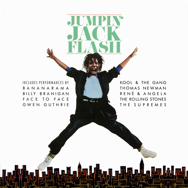 Jumpin' Jack Flash - Original Soundtrack, Thomas Newman OST LP/CD