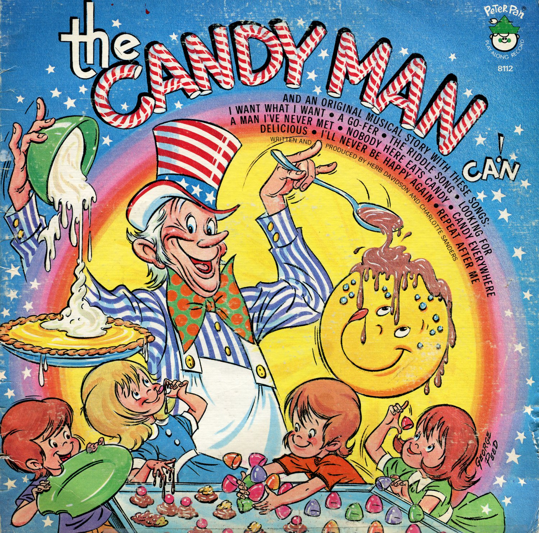 The Candy Man Can! - An Original Musical Story, Peter Pan LP/CD