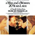 A Man And A Woman: 20 Years Later - Original Soundtrack, Francis Lai OST LP/CD