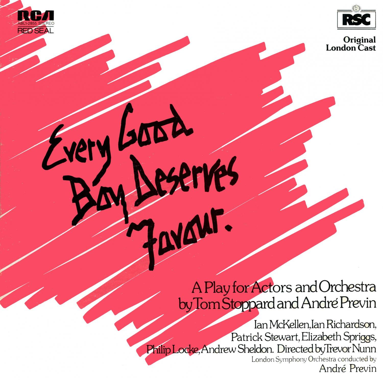 Every Good Boy Deserves Favour - Original London Cast Recording, Andre Previn Soundtrack OST LP/CD